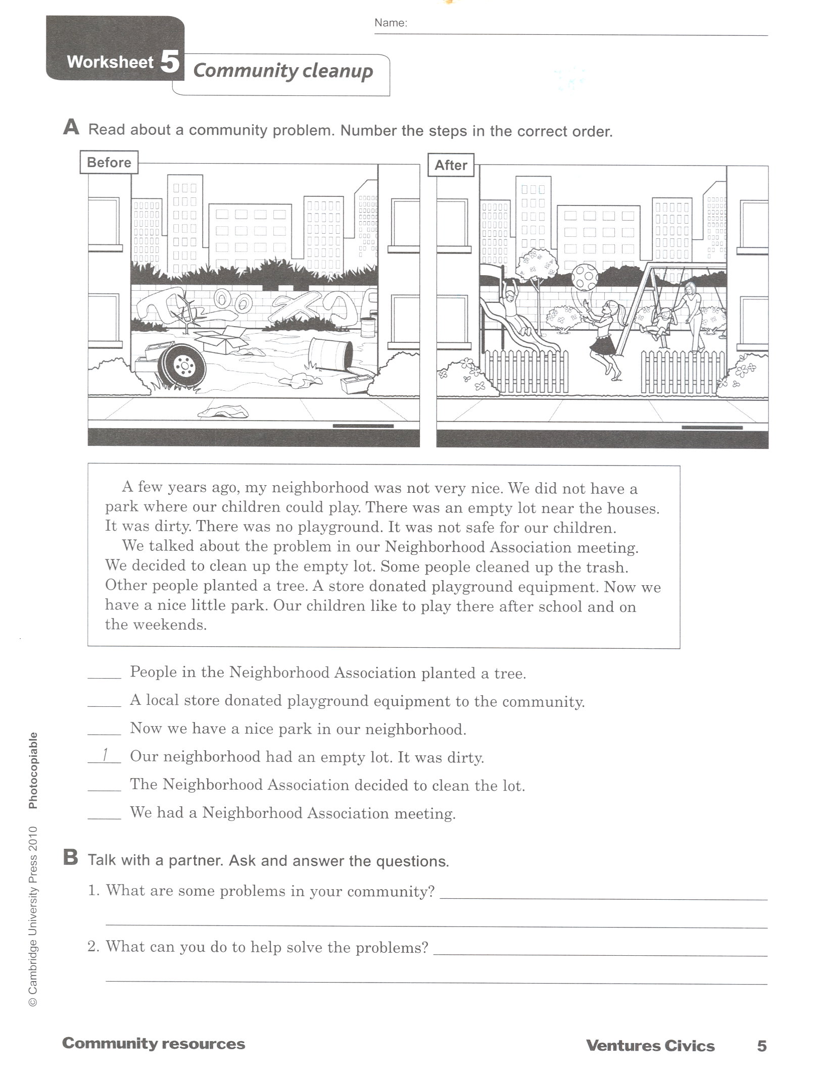 Worksheets Esl Civics Worksheets multi level esl grow through training download file